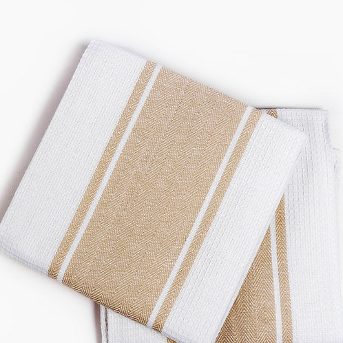 Кухонное полотенце Pena, 2 шт/компл, бежевый