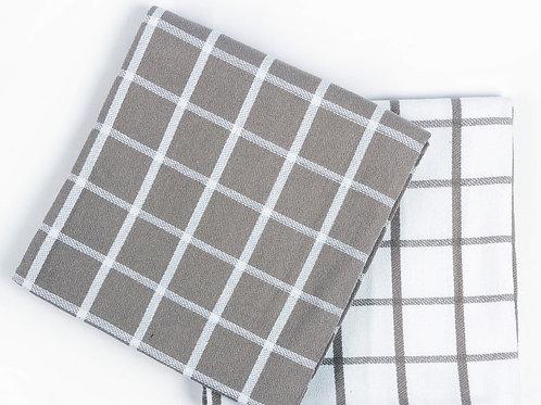 Кухонное полотенце Chino, 2 шт/компл, серо-бежевый