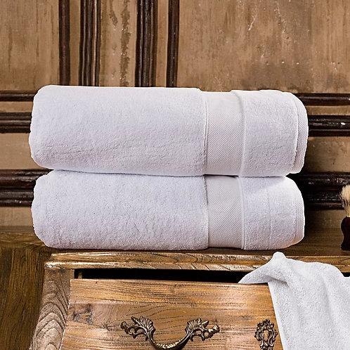 Набор из 2х полотенец ABERDEEN, 70Х140 см - 2 шт, белый