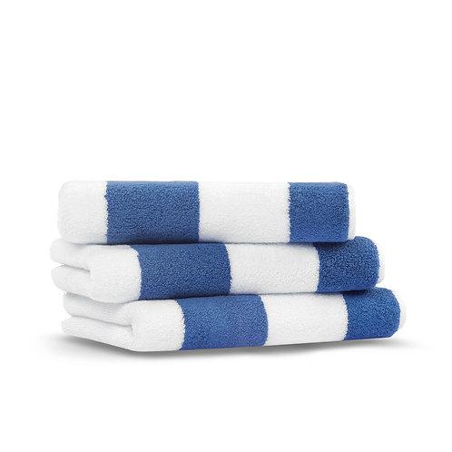Полотенце Tampa, синий/белый