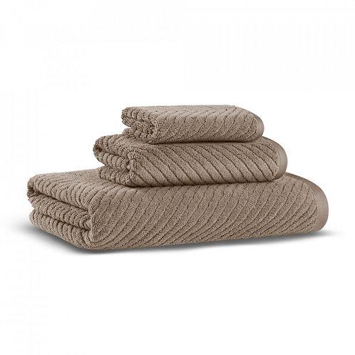 Полотенце Chevron, серо-коричневый