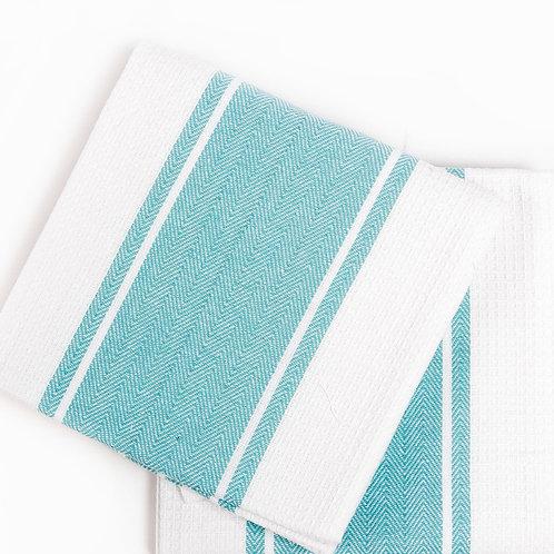 Кухонное полотенце Pena, 2 шт/компл, бирюзовый