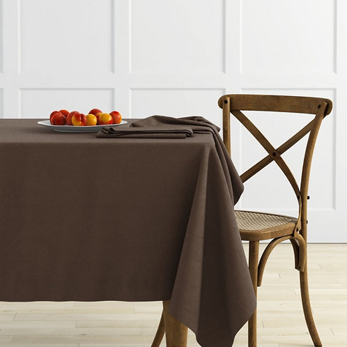 Комплект скатертей Ибица, шоколадный, 2 шт