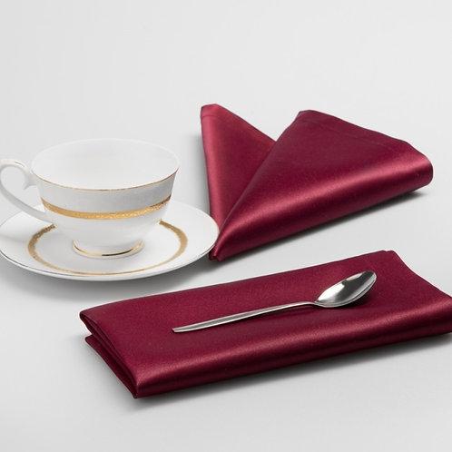 Комплект салфеток Донна, бордовый, 6 шт