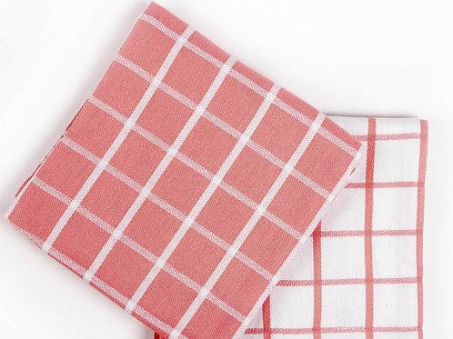 Кухонное полотенце Chino, 2 шт/компл, розовый