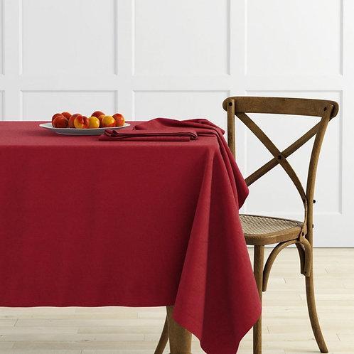 Комплект скатертей Ибица, винный, 2 шт