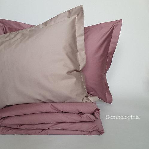 """Комплект постельного белья комбинированный """"Plum-Gray"""""""