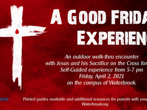Good Friday Outdoor Experience - April 2nd