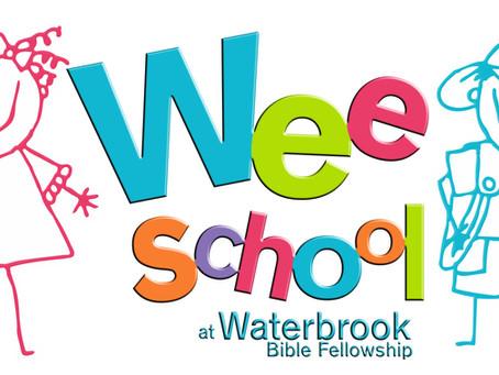 Wee School at Waterbrook
