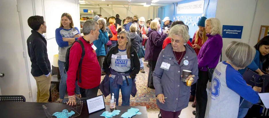 First-of-its-kind election volunteer center opens in Davis