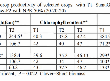 Trial Results - Lalitha-21 vs Conventional Fertilizer