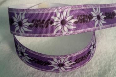 grosgrain edelweiss purple