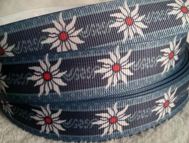 grosgrain edelweis blue/grey