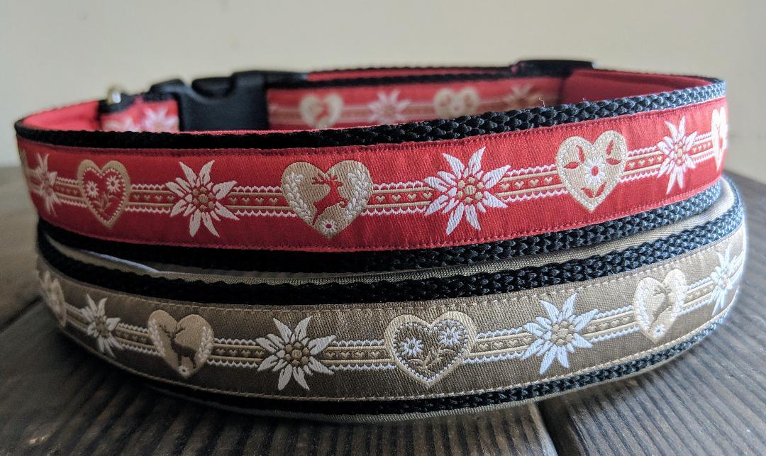 collars deer and edelweiss ribbon.jpg