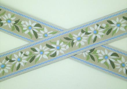 edelweiss blue&beige
