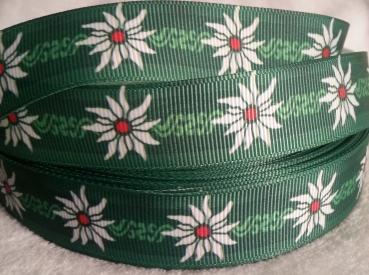 grosgrain edelweiss green