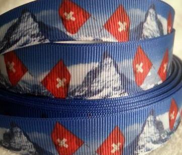 grosgrain swiss flag /matterhorn