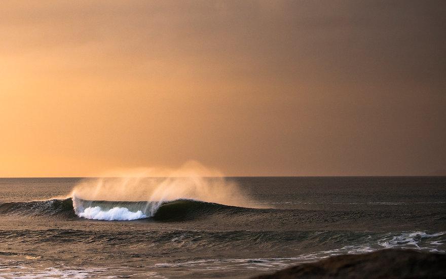 Golden Sunset, Ireland.