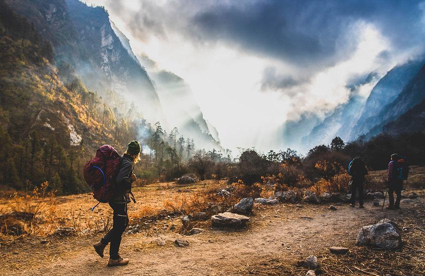 Journey through the Himalayas, Nepal