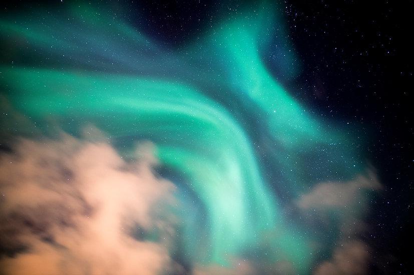Dancing Aurora, Iceland