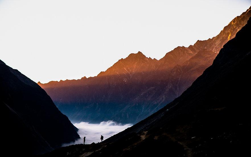 Last Light, Langtang Valley, Nepal