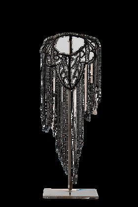 Collier Perles de jais anciennes
