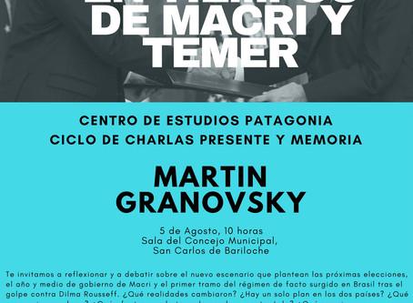 Charla de Martín Granosvsky en Bariloche