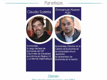 Álvarez Agis y Scaletta en el Segundo Encuentro rionegrino