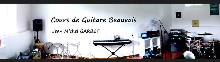 Cours de guitare Beauvais éveil musical Jean michel Garbet / C2MB