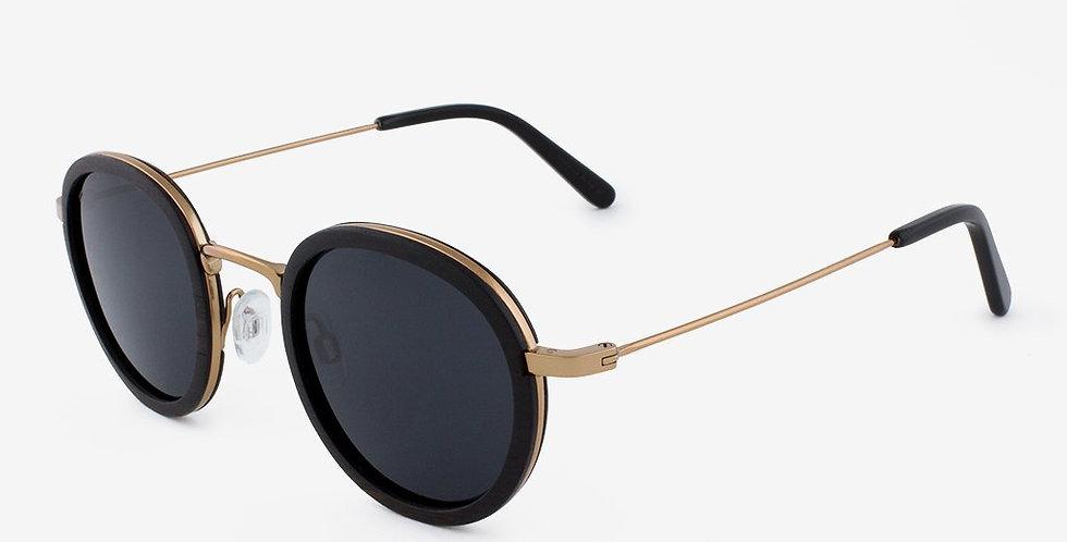Pasco - Featherlight Titanium & Wood Sunglasses