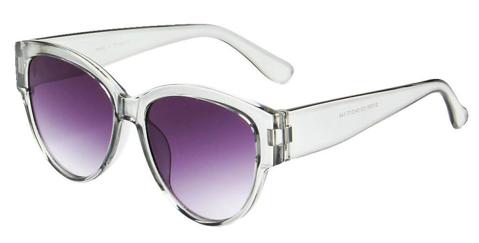CALDWELL | S1035 - Women Round Cat Eye Sunglasses
