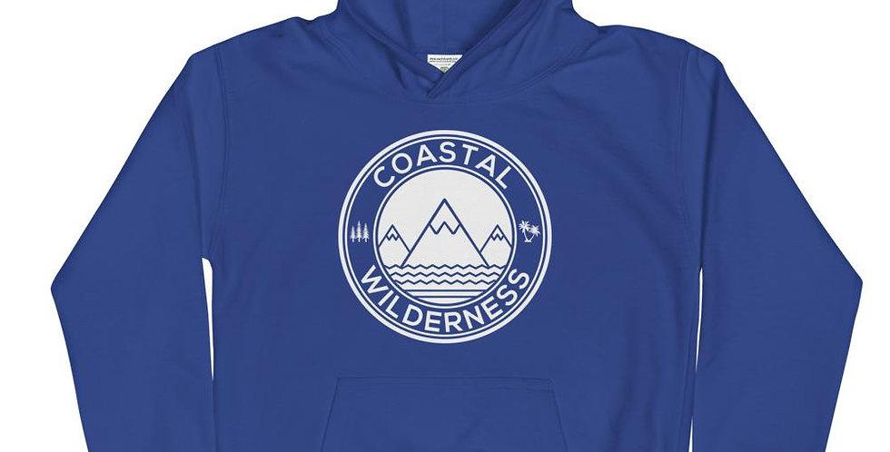 Coastal Emblem Kids Hoodie