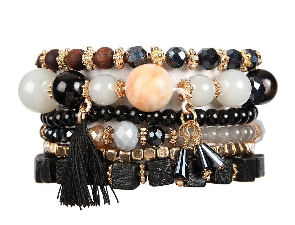 Hdb2056 - Charm Stack Bracelet