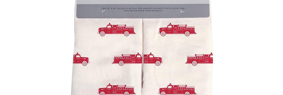 Fire Truck Newcastle Blankie