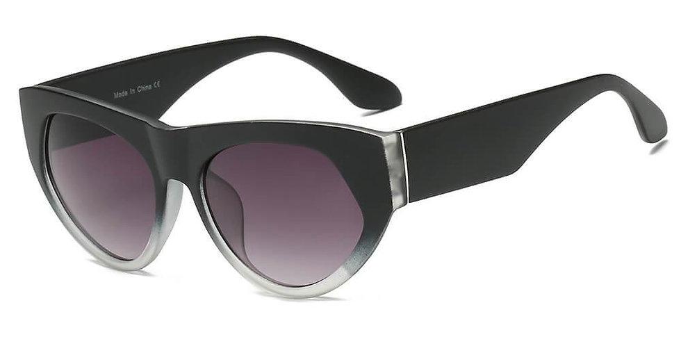 CABAZON | S1059 - Women Round Cat Eye Sunglasses