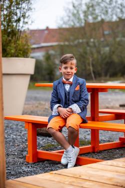 Dressed up kid