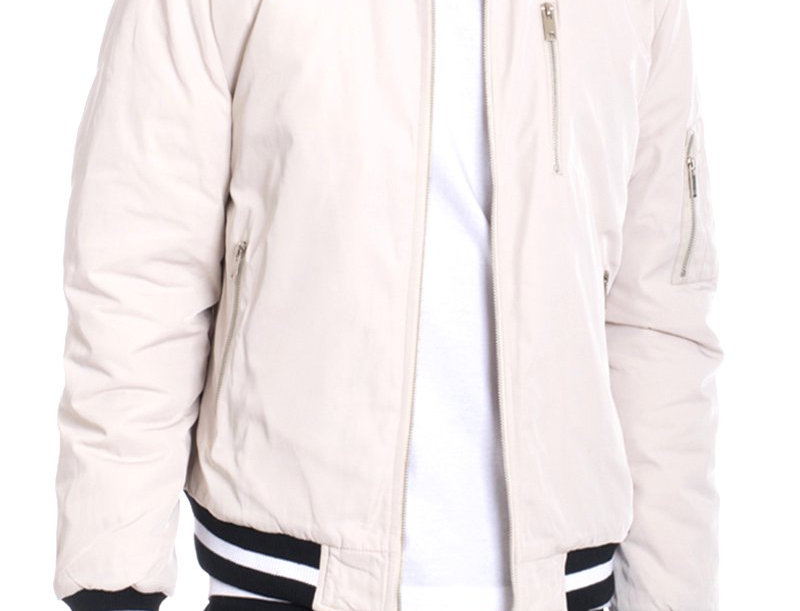 LUXE TWILL JACKET- CREAM