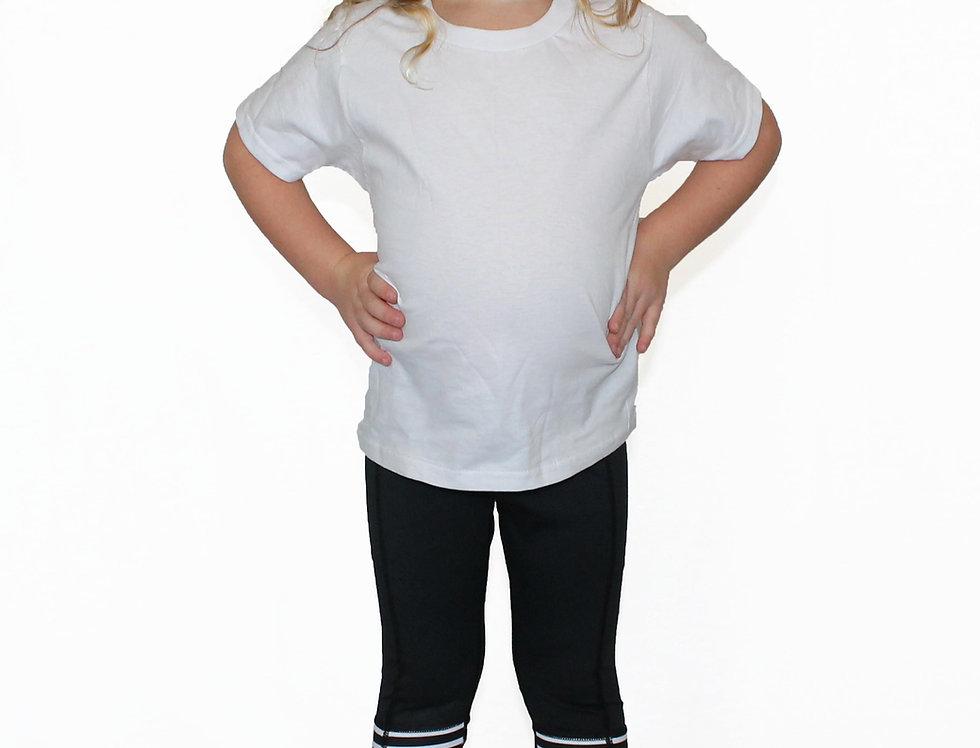 Black With Stripes - Pocket Pant - Kids