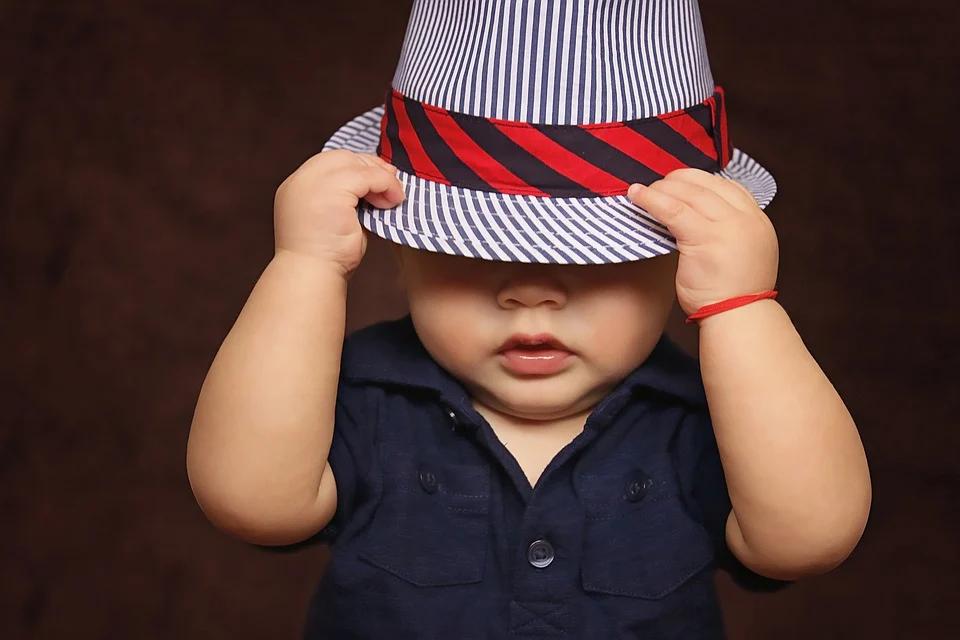 Baby Dressed up