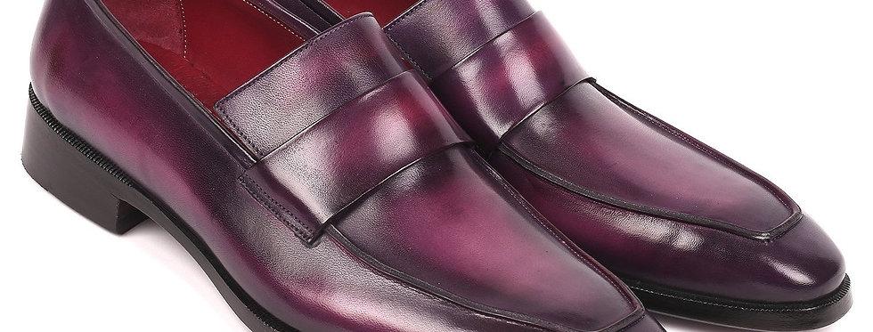 Paul Parkman Men's Loafers Purple (ID#93PR814)