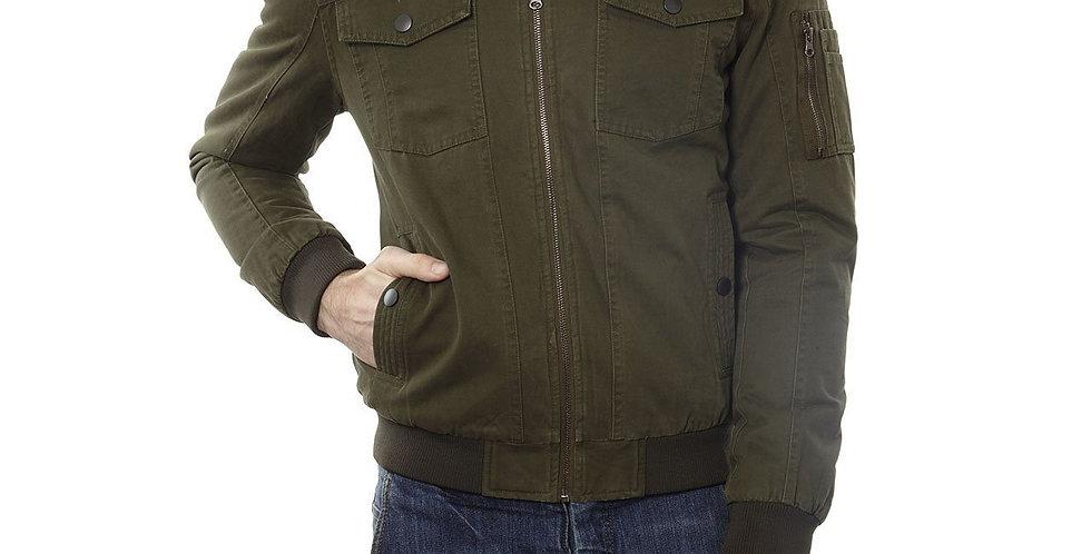 Maverick Cotton Aviator Jacket