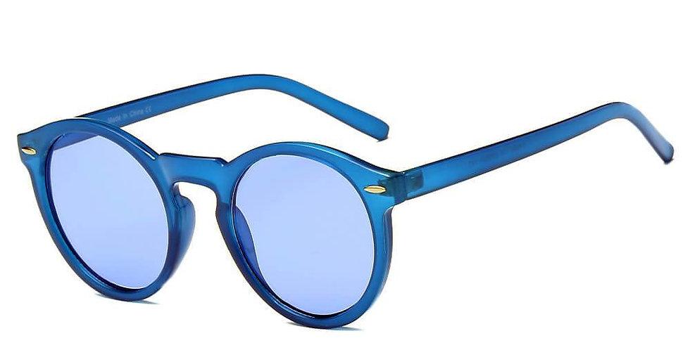 FUNNER | S1060 - Retro Round Fashion Sunglasses