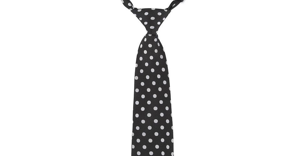 B/W Dot Tie