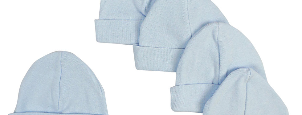 Blue Baby Cap (Pack of 5)