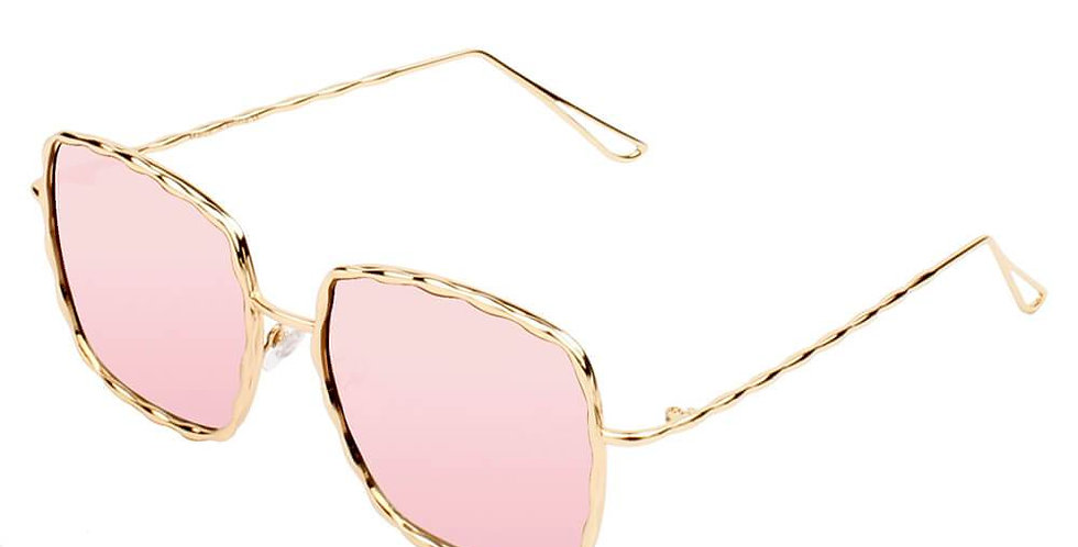 ENNIS   S2025 - Women Square Chic Fashion Sunglasses