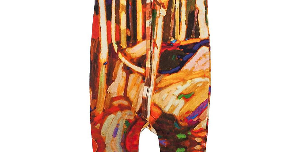 Footie - Short Sleeve - Birch Grove