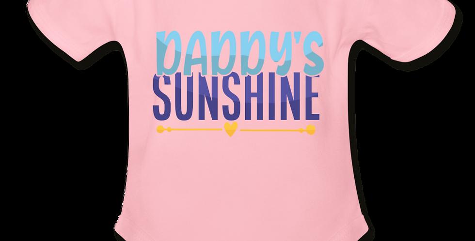 Daddys Sunshine Short Sleeve Baby Bodysuit