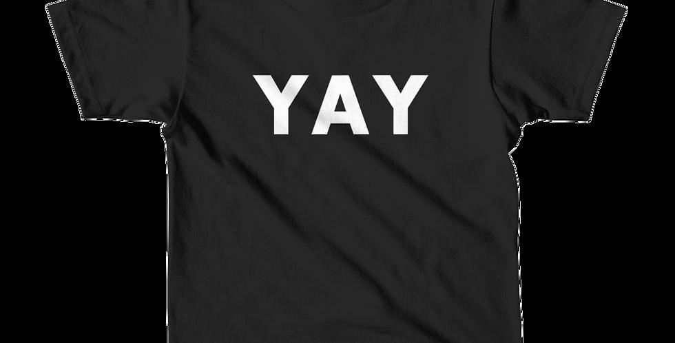 Yay Short Sleeve Kids T-Shirt