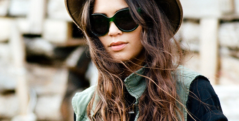 Jase New York Cosette Sunglasses in Emerald Green