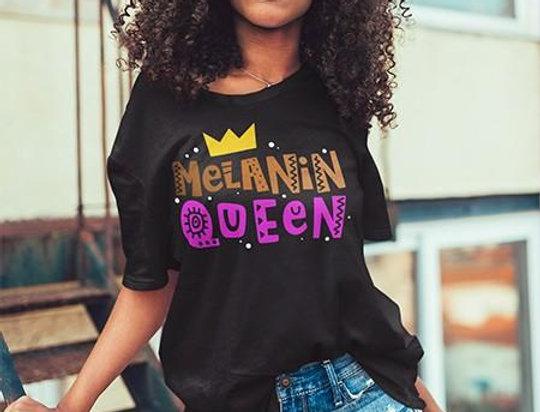 Melanin Queen Graphic Tee